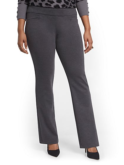 Tall Pull-On Bootcut Ponte Pant - Superflex - New York & Company