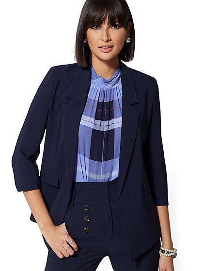 Tall Soft Blazer - 7th Avenue - New York & Company