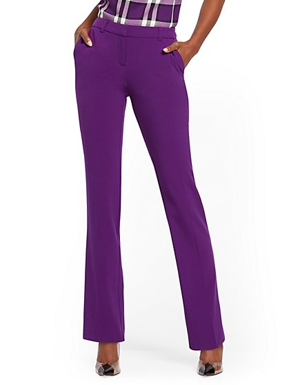 Tall Straight-Leg Pant - Modern - Double Stretch - 7th Avenue - New York & Company
