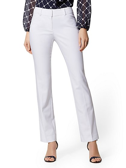 Tall Straight-Leg Pant - Signature Fit - All-Season Stretch - 7th Avenue - New York & Company