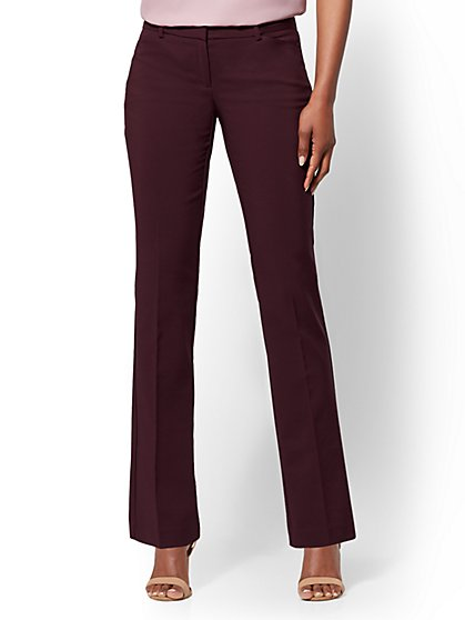 Tall Straight Leg Pant - Signature Fit - All-Season Stretch - 7th Avenue - New York & Company