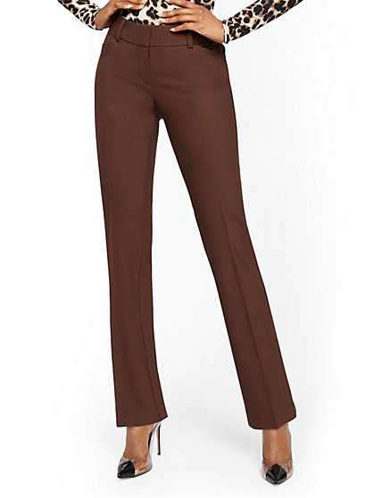 Tall Straight-Leg Pant - Signature Fit - Superstretch - 7th Avenue - New York & Company