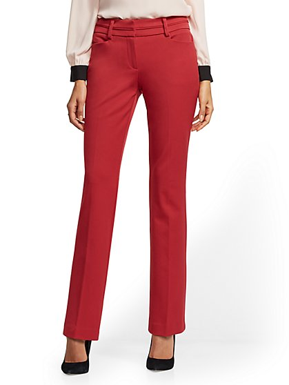 Tall Straight Leg Pant - Signature Fit - Superstretch - 7th Avenue - New York & Company