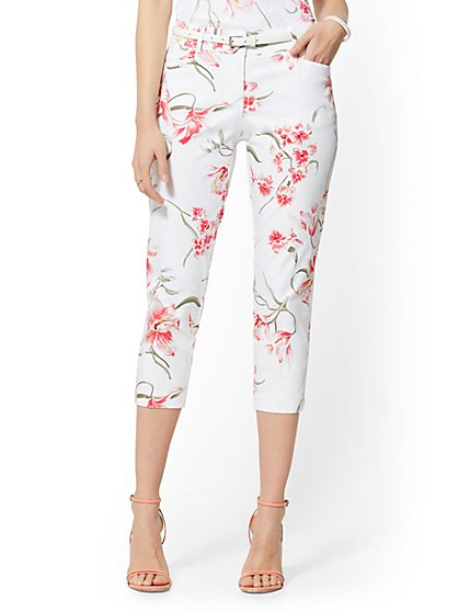 Tall Structured Crop Pant - 7th Avenue - New York & Company