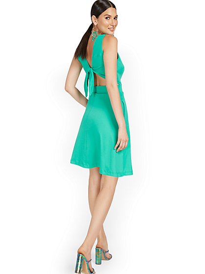 Tall Tie-Back Dress - City Knits - New York & Company