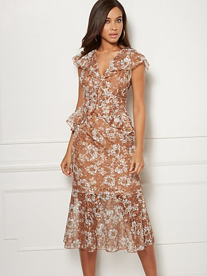 Tall Violette Lace Sheath Dress - Eva Mendes Collection - New York & Company