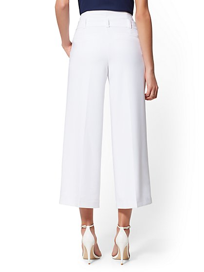 440e4a9ce57 ... Tall White Madie Crop Pant - 7th Avenue - New York   Company ...