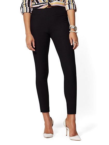 Tall Whitney High-Waist Pull-On Ankle Pant - New York & Company