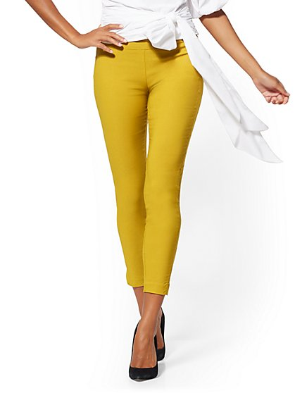 Tall Whitney High-Waisted Pull-On Ankle Pant - New York & Company