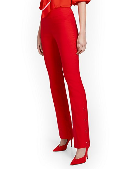 Tall Whitney High-Waisted Pull-On Barely Bootcut Pant - New York & Company