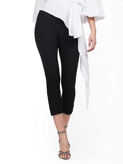 Tall Whitney High-Waisted Pull-On Capri Pant - New York & Company