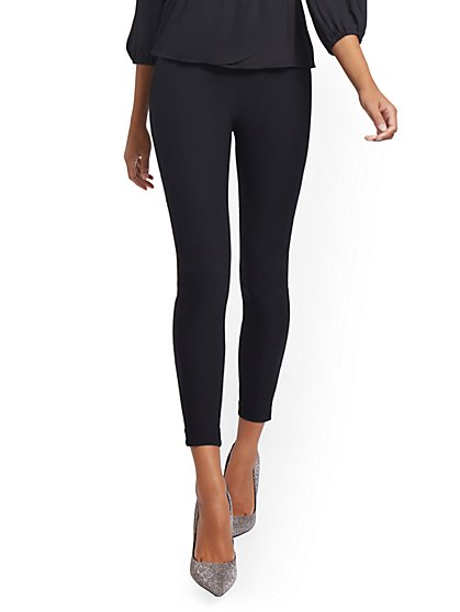 Tall Whitney High-Waisted Pull-On Slim-Leg Pant - New York & Company
