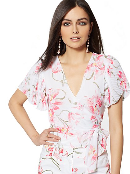 Tall Wrap Blouse - New York & Company