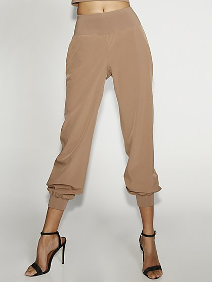 Tan Jogger Pant - Gabrielle Union Collection - New York & Company