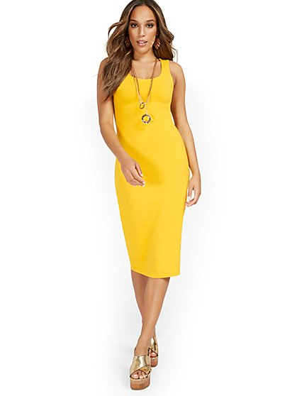 Tank Midi Dress - Everyday Collection - New York & Company