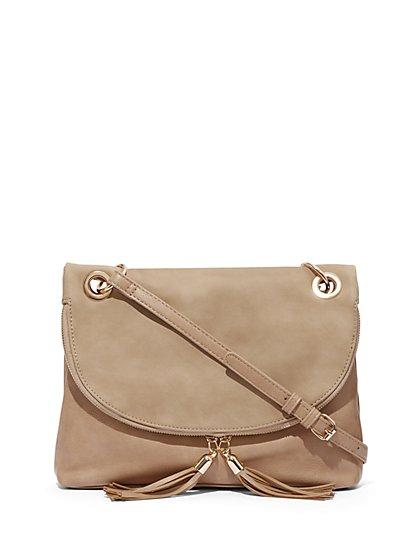 Tassel-Accent Grommet Crossbody Bag - New York   Company ... 63f9a48081ae5