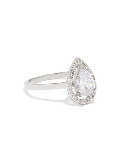 Tear Drop Solitaire Ring - New York & Company