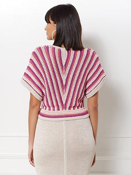 ac9fda60 ... Teri Stripe Dolman Sweater - Eva Mendes Collection - New York & Company