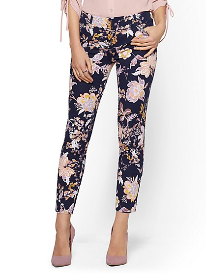 The Audrey Ankle Pant - Floral - New York & Company