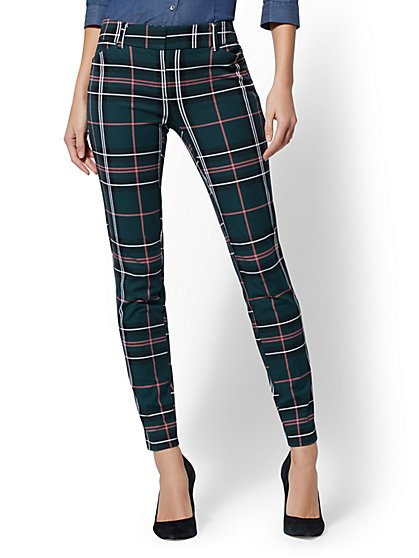 The Audrey Pant - Plaid - New York & Company