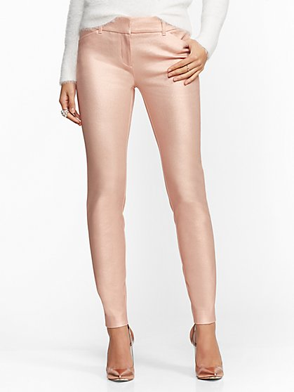 The Audrey Pant - Rose Gold Metallic - New York & Company