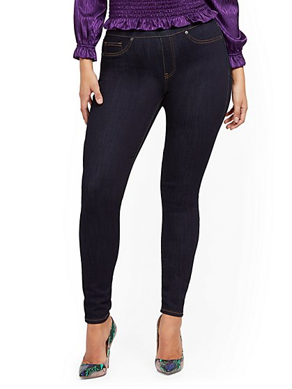 The Feel-Good Pull-On Legging - Rinse - New York & Company