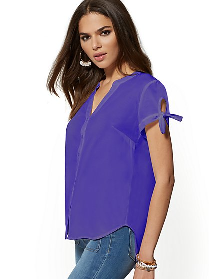 The Kate Shirt - Short Sleeve - New York & Company