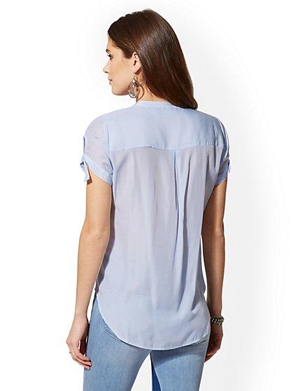 a57a2687ec ... The Kate Shirt - Short Sleeve - New York   Company ...