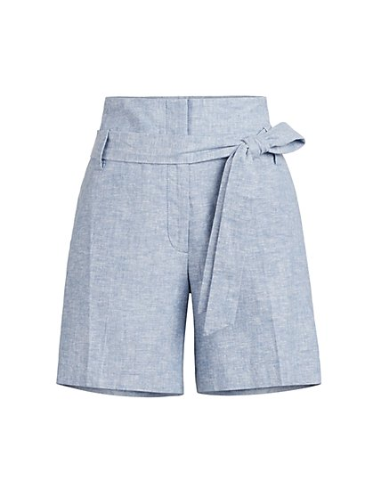 The Madie 6-Inch Short - Linen Blend - 7th Avenue - New York & Company