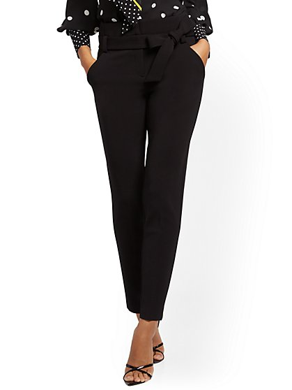 The Madie Pant - Black - 7th Avenue - New York & Company