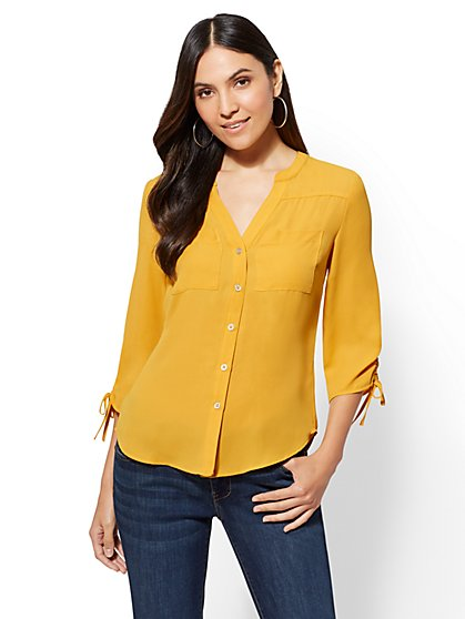The Meghan Shirt - New York & Company