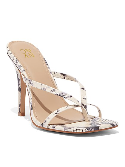 Thong High-Heel Sandal - New York & Company