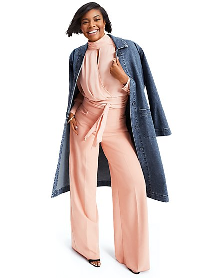 d59258c3333 Tie-Back Blouse - Gabrielle Union Collection - New York   Company
