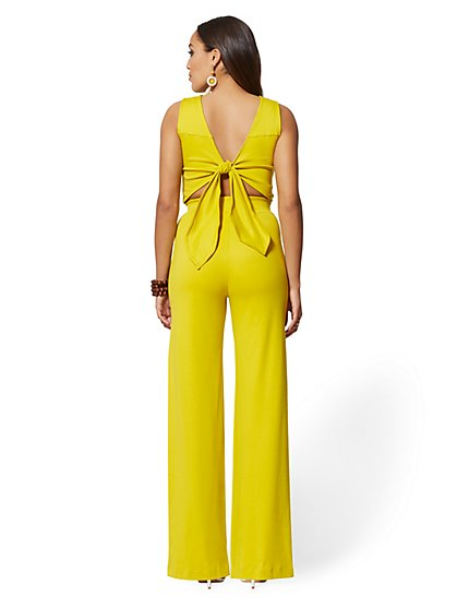 b5809df48740 ... Tie-Back Jumpsuit - New York   Company