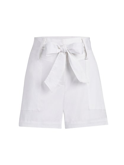 Tie-Belt Short - Gabrielle Union Collection - New York & Company