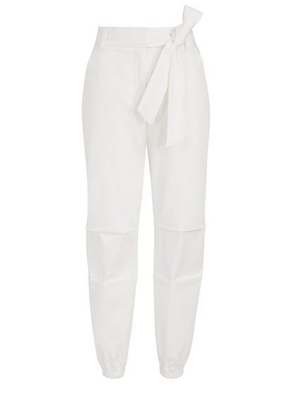 Tie-Front Jogger Pant - The NY&C Legacy Collection - New York & Company