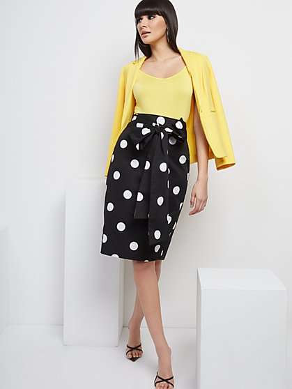 Tie-Front Pencil Skirt - 7th Avenue - New York & Company