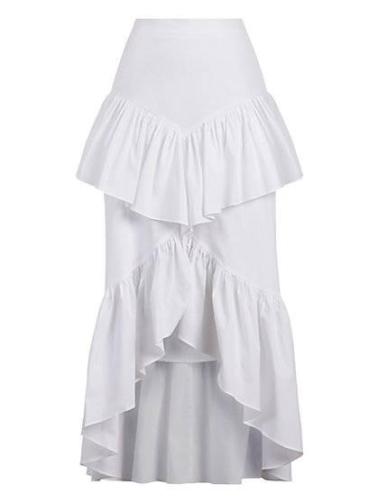 Tiered Ruffle Skirt - Gabrielle Union Collection - New York & Company