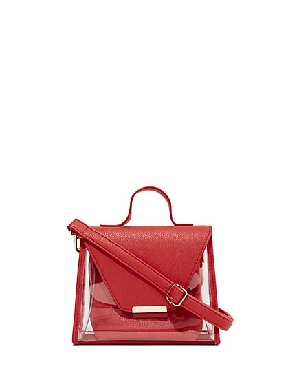 235b9e3ec Top-Handle Crossbody Bag - New York & Company ...