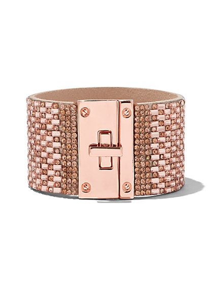Turnlock Cuff Bracelet - New York & Company