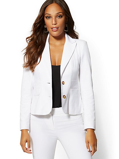 Two-Button Jacket - All-Season Stretch - 7th Avenue - New York & Company
