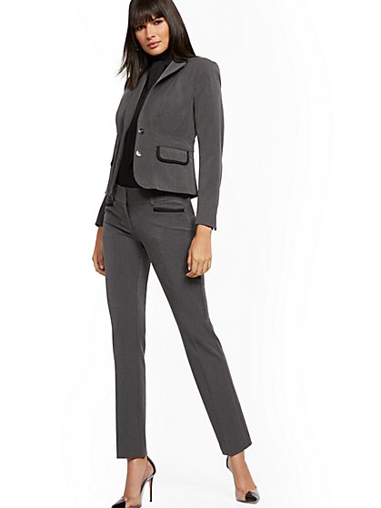 Two-Button Waist-Inset Jacket - SuperStretch - 7th Avenue - New York & Company