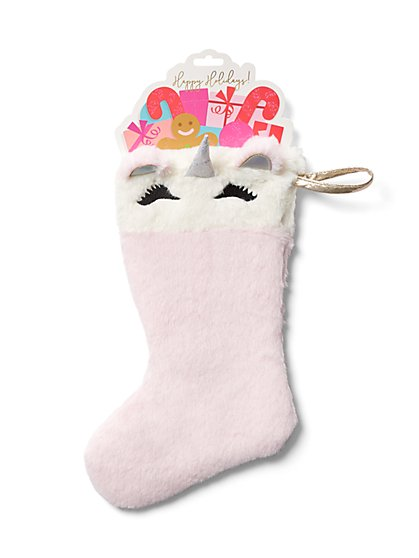 Unicorn Stocking - New York & Company