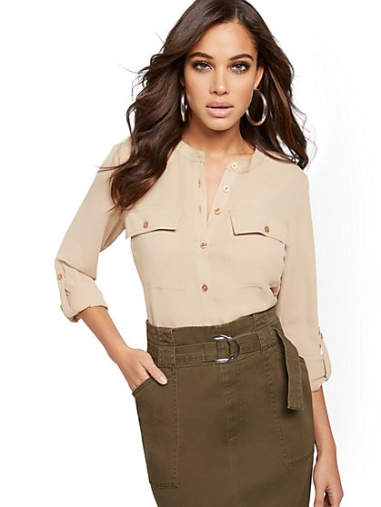 Utility Blouse - New York & Company