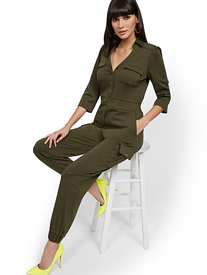 Utility Jumpsuit - Super Flex - New York & Company