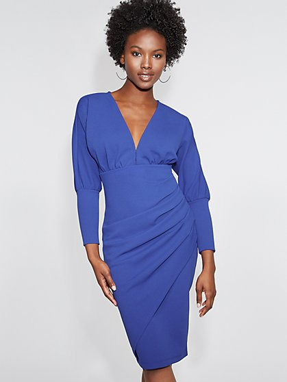 V-Neck Sheath Dress - Gabrielle Union Collection - New York & Company