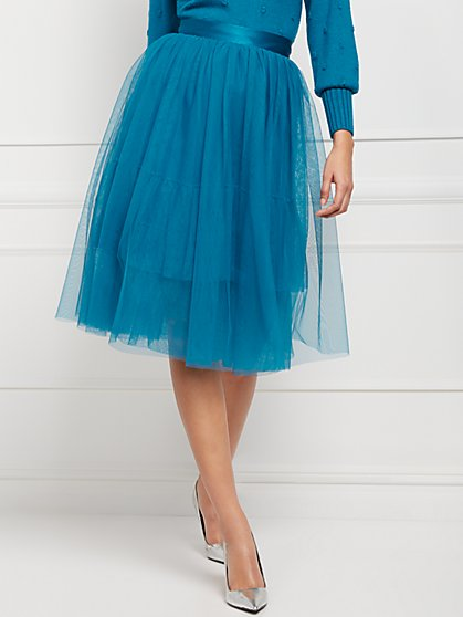 Vala Tulle Skirt - Eva Mendes Collection - New York & Company