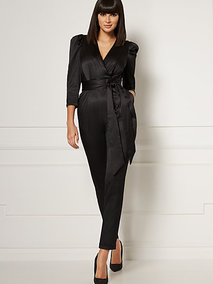 Vanna Wrap Jumpsuit - Eva Mendes Collection - New York & Company