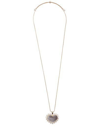 Velvet Heart Pendant Necklace - New York & Company