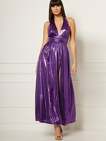 Veronica Halter Maxi Dress - Eva Mendes Collection - New York & Company